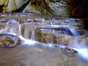 Пороги у водопада Агсу, Голестан