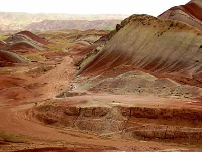 Горы в районе Тебриза