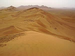 Барханная пустыня